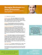 Leader impact story - union work loads CC HS