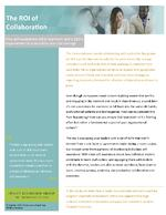 ROI of Collaboration Insights Paper_final CC HS